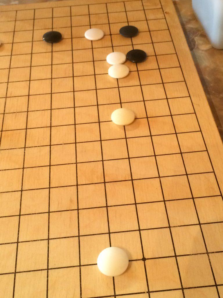 囲碁碁盤布石
