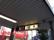 地下鉄今里駅