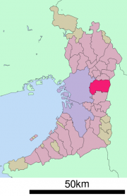 東大阪市地図