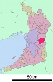 八尾市地図