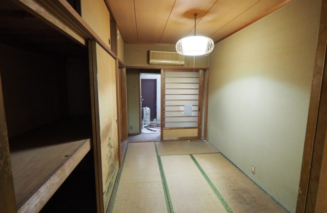 東大阪市太平寺・戸建て中古物件(1階・和室)