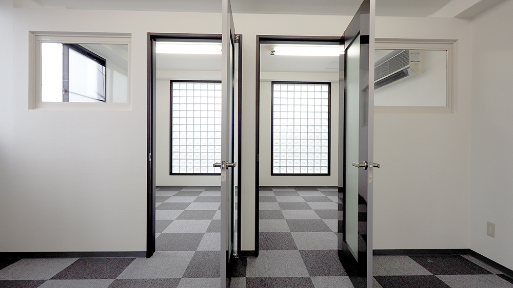 大阪市旭区の間取りが独特な「倉庫付き事務所」