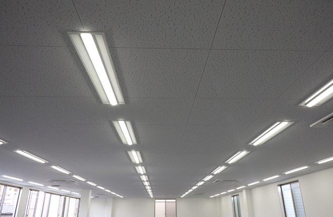 2階天井 | 大阪市城東区の快適な倉庫事務所