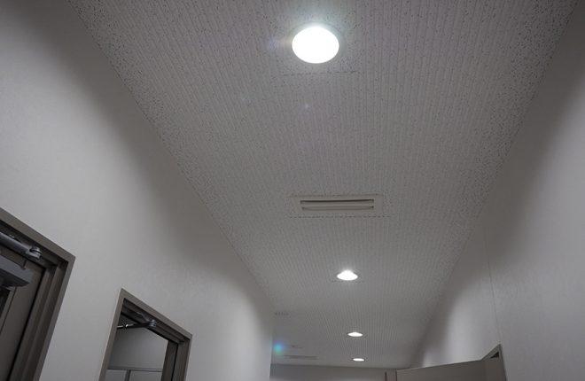 2階ホール天井 | 大阪市城東区の細部にこだわった倉庫事務所