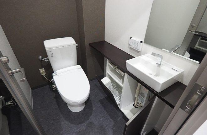 2階トイレ | 大阪市城東区の快適な倉庫事務所