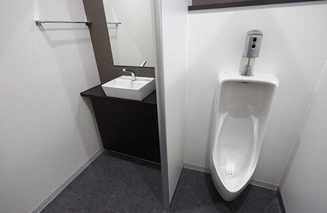 2階トイレ | 大阪市城東区の細部にこだわった倉庫事務所