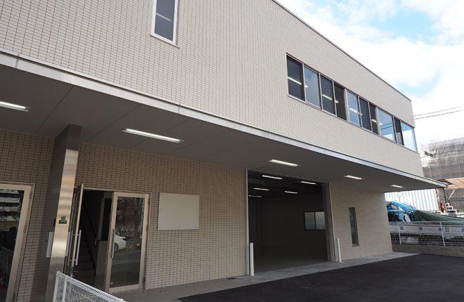 外観 | 大阪市城東区の細部にこだわった倉庫事務所
