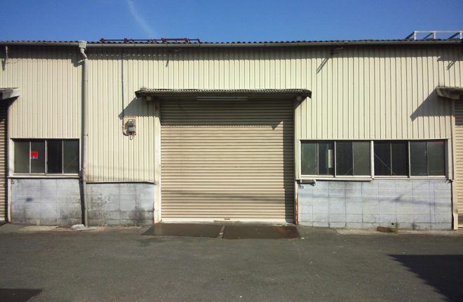 東大阪市楠根の倉庫工場
