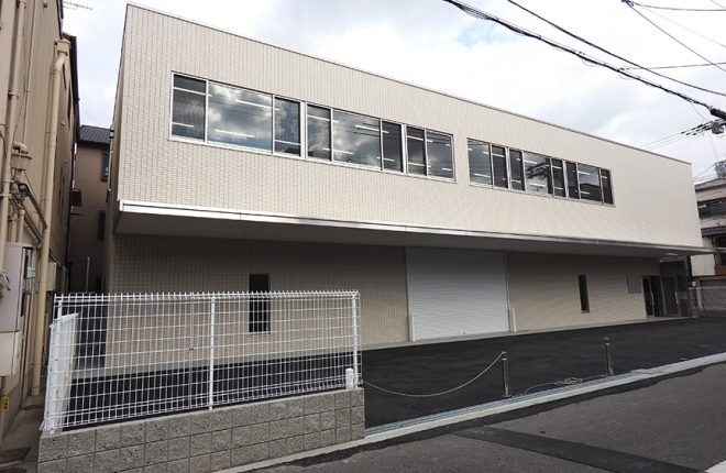 外観 | 大阪市城東区の快適な倉庫事務所