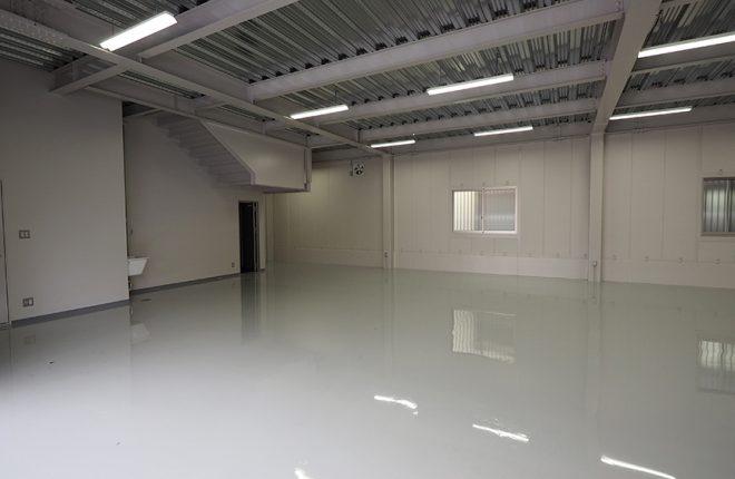 1階倉庫 | 大阪市城東区の細部にこだわった倉庫事務所