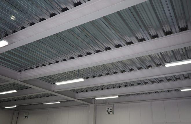 1階天井 | 大阪市城東区の快適な倉庫事務所