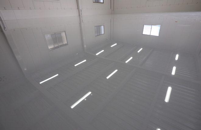 1階倉庫床 | 大阪市城東区の細部にこだわった倉庫事務所